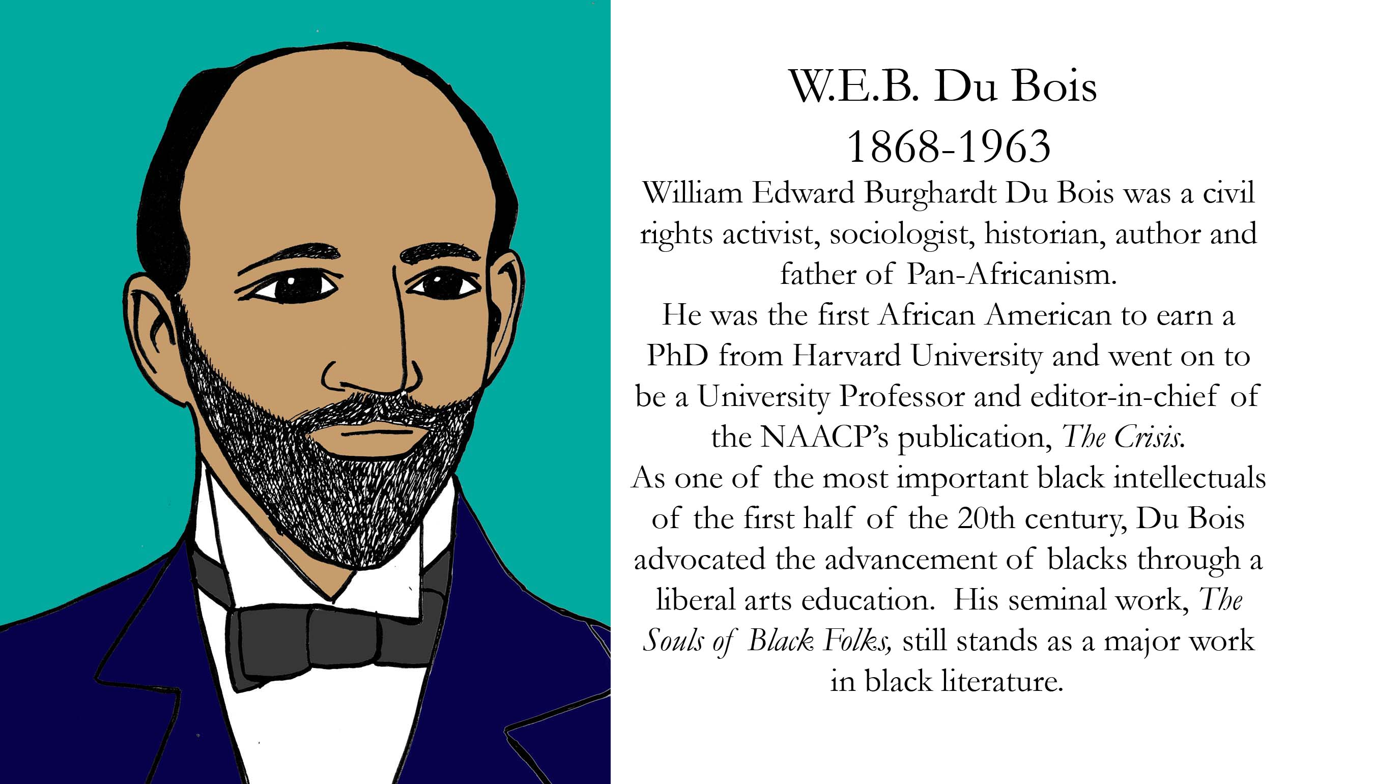 essays written by web dubois Booker t washington and web du bois had contrasting views on how  this  is not an example of the work written by our professional essay.