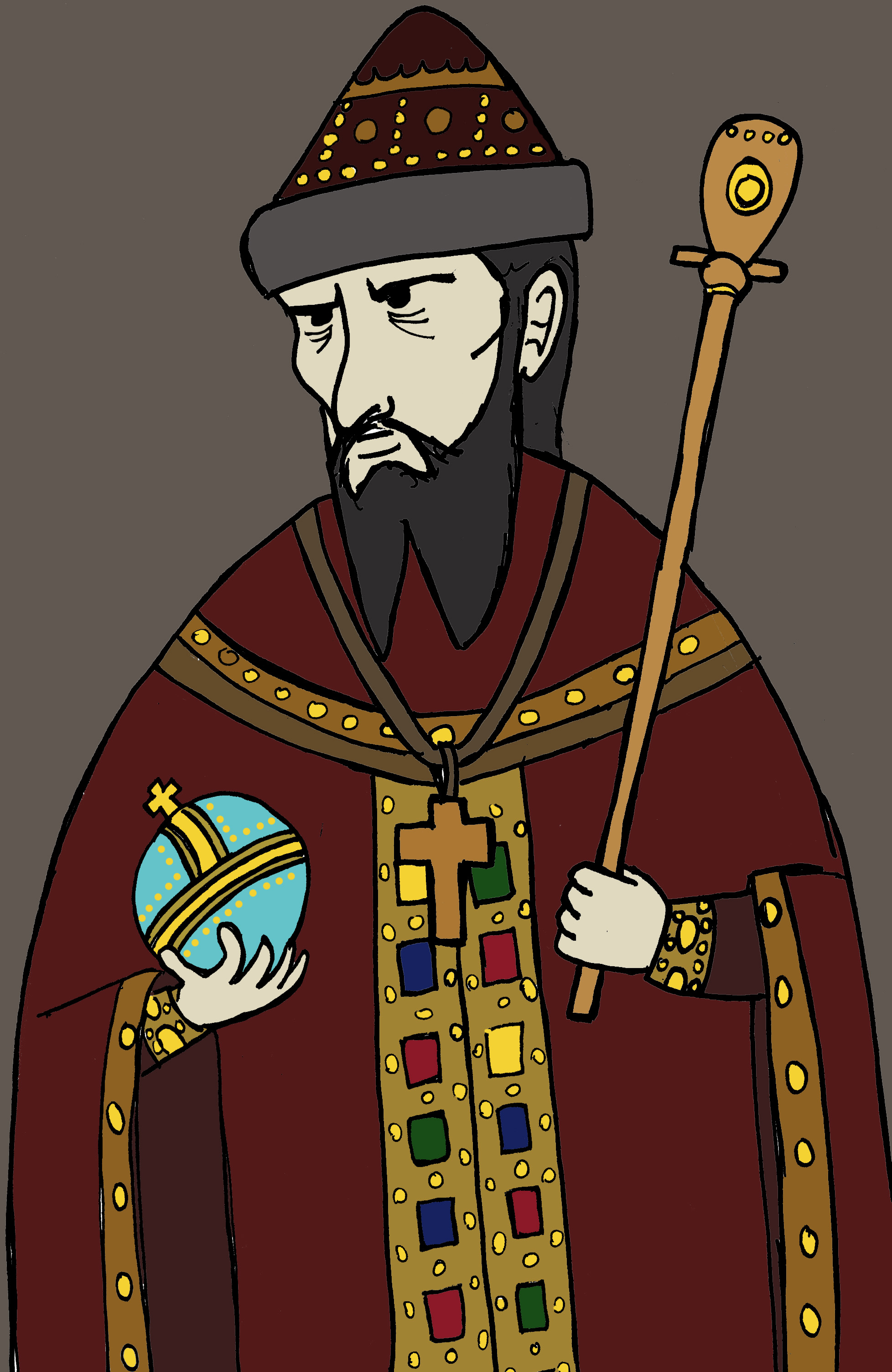 ivan the terrible Two most interesting of ivan the terrible facts are that he killed his own son and beat his pregnant daughter-in-law that lead of miscarriage.